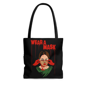 Wear a Mask Tote Bag (Various Sizes)