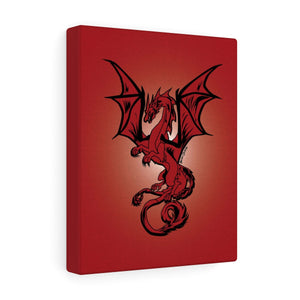 Red Dragon Canvas Print (Various Sizes)