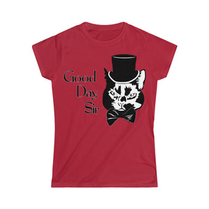 Good Day Cat Women's Tee (S-2XL Various Colors)