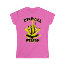 Load image into Gallery viewer, Pinball Wizard Women's Tee (S-2XL Various Colors)