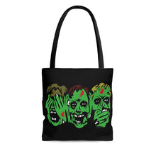 Load image into Gallery viewer, 3 Zombies Tote Bag (Various Sizes)