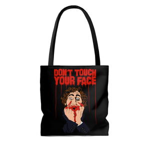 Don't Touch Your Face Tote Bag 2 (Various Sizes)