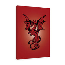 Load image into Gallery viewer, Red Dragon Canvas Print (Various Sizes)