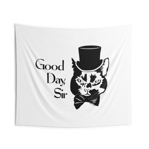 Good Day Cat Wall Tapestry (Various Sizes)