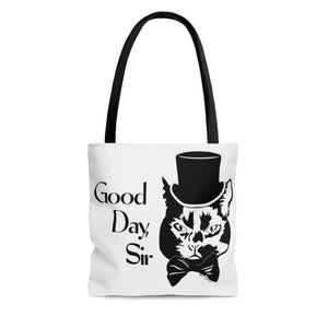 Good Day Cat Tote Bag (Various Sizes)