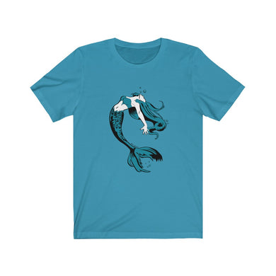 Mermaid Cotton Tee (XS-4XL various colors)