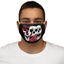 Load image into Gallery viewer, 3 Skulls (with Red) Mask