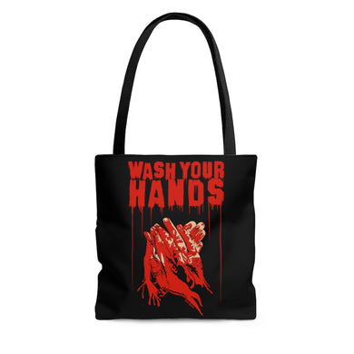 Wash Your Hands Tote Bag (Various Sizes)