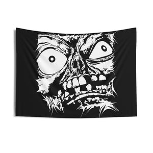 Stretched Monster Face Wall Tapestry (Various Sizes)