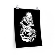 Load image into Gallery viewer, Zombie Face Poster (Various Sizes)