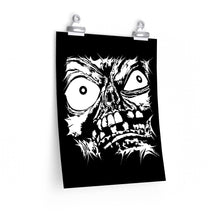 Load image into Gallery viewer, Stretched Monster Face Poster (Various Sizes)