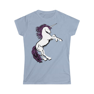 Unicorn Women's Tee (S-2XL Various Colors)