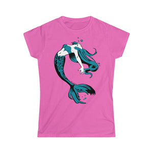 Mermaid Women's Tee (S-2XL Various Colors)