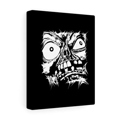 Stretched Monster Face Canvas Print (Various Sizes)