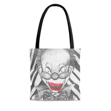 Load image into Gallery viewer, Clown Doll Tote Bag (Various Sizes)