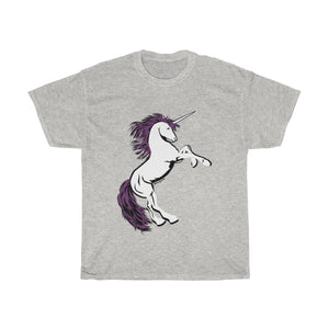 Unicorn Cotton Tee (S-5XL Various colors)