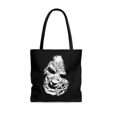 Zombie Face Tote Bag (Various Sizes)