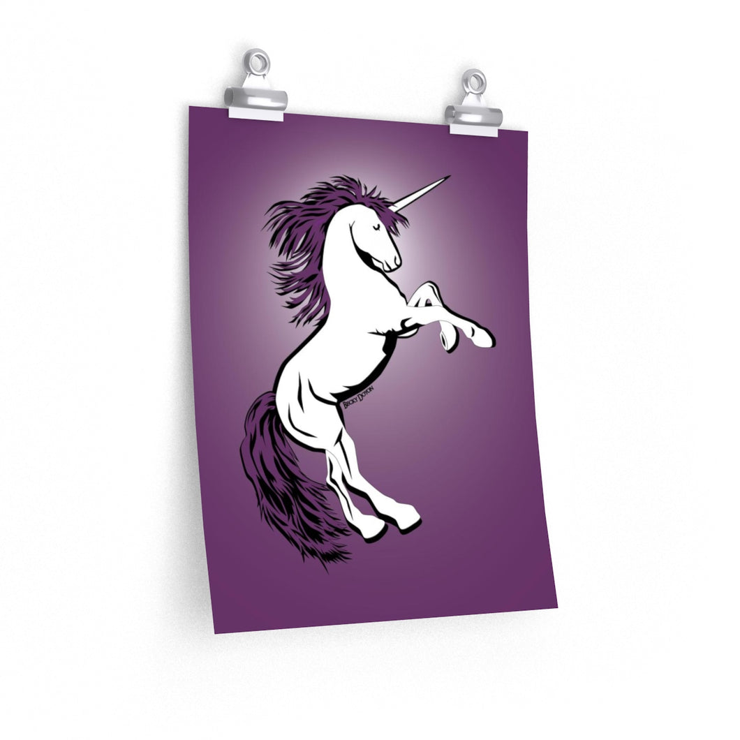 Unicorn Poster (Various sizes)