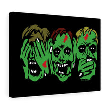 Load image into Gallery viewer, 3 Zombies Canvas Print (Various Sizes)