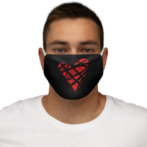Red Heart Mask