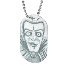 Load image into Gallery viewer, Vampire Dog Tag Necklace