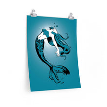 Load image into Gallery viewer, Mermaid Poster (Various sizes)