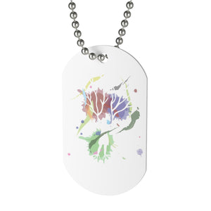 Female Empowerment Dog Tag Necklace