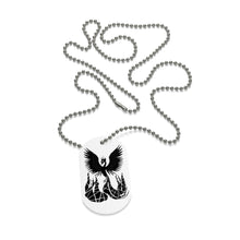 Load image into Gallery viewer, Phoenix Dog Tag Necklace