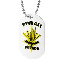 Load image into Gallery viewer, Pinball Wizard Dog Tag Necklace