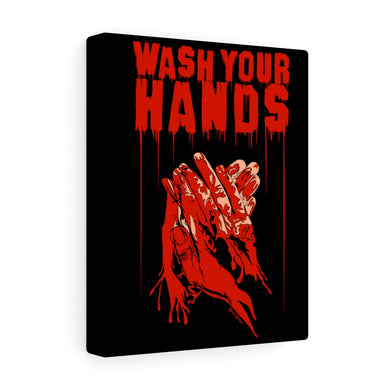 Wash Your Hands Canvas Print (Various Sizes)