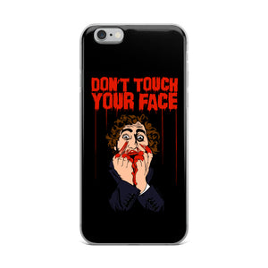 Don't Touch Your Face 2 iPhone Case (Various Options)