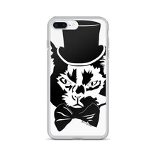 Load image into Gallery viewer, Fancy Cat iPhone Case (Various Options)