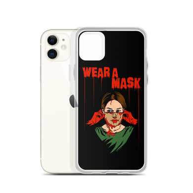 Wear a Mask iPhone Case (Various Options)