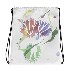 Female Empowerment Drawstring Bag