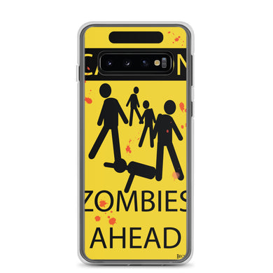 Caution! Zombies Samsung Case (Various Options)