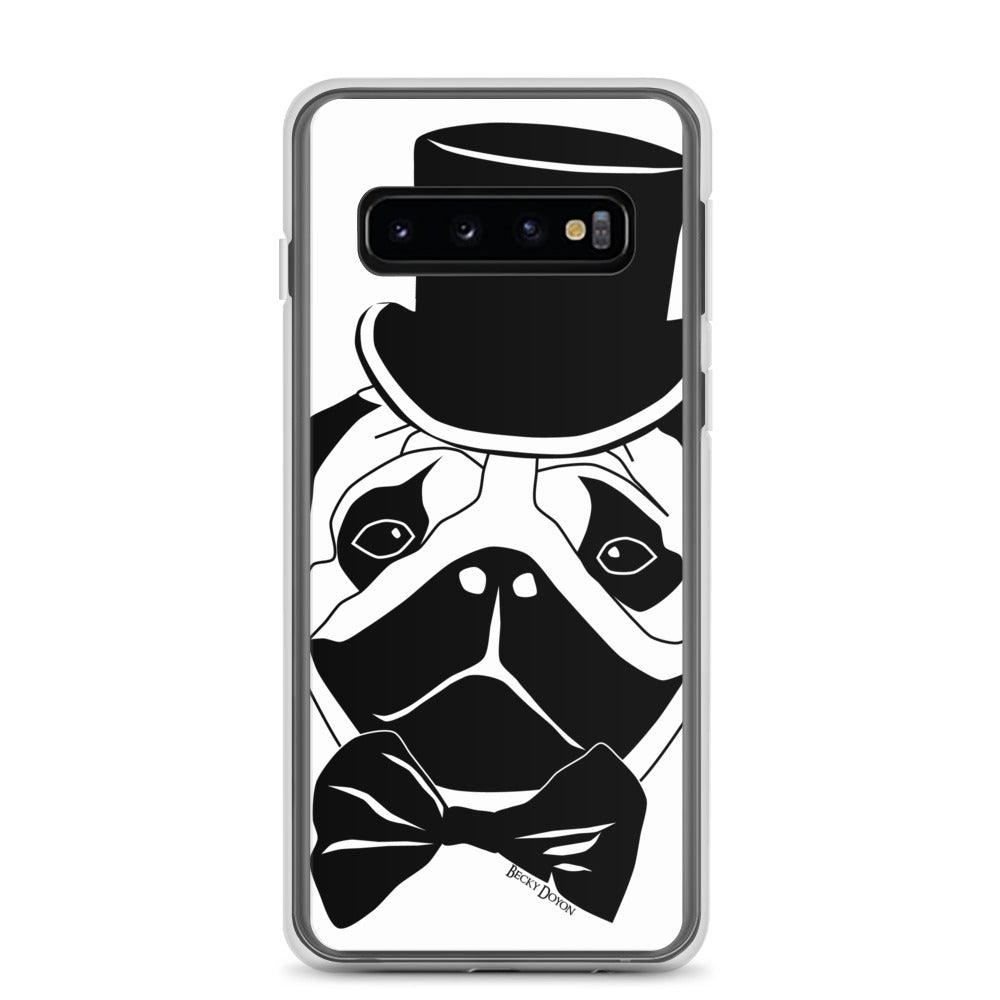 Fancy Pug Samsung Case (Various Options)