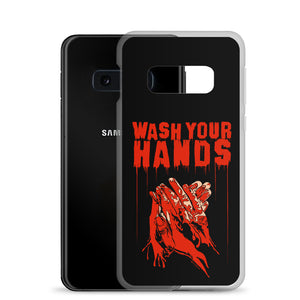 Wash Your Hands Samsung Case (Various Options)