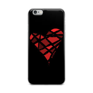 Red Heart iPhone Case (Various Options)