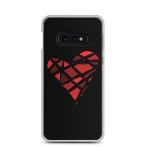 Red Heart Samsung Case (Various Options)