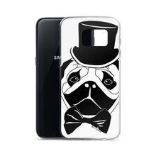 Load image into Gallery viewer, Fancy Pug Samsung Case (Various Options)