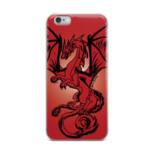 Load image into Gallery viewer, Red Dragon iPhone Case (Various Options)