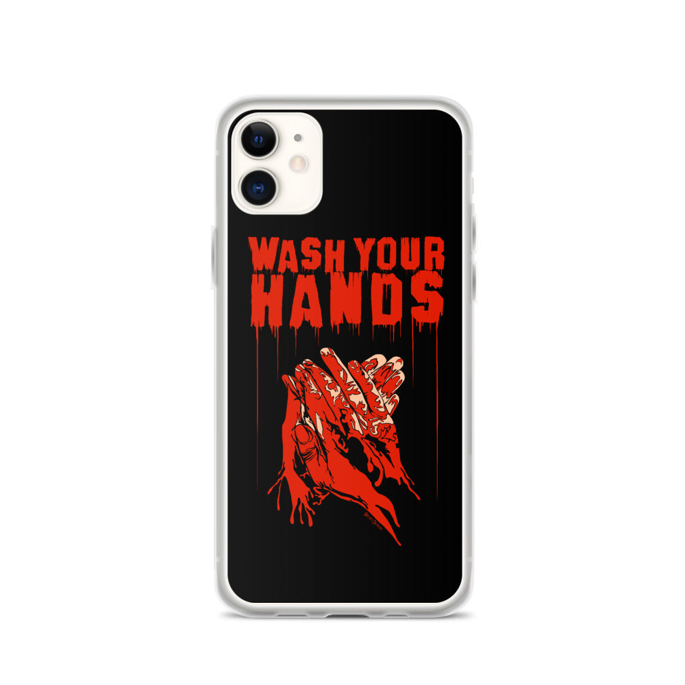 Wash Your Hands iPhone Case (Various Options)