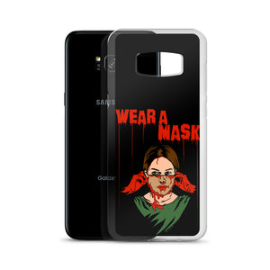 Wear a Mask Samsung Case (Various Options)