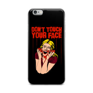 Don't Touch Your Face iPhone Case (Various Options)