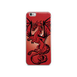 Red Dragon iPhone Case (Various Options)