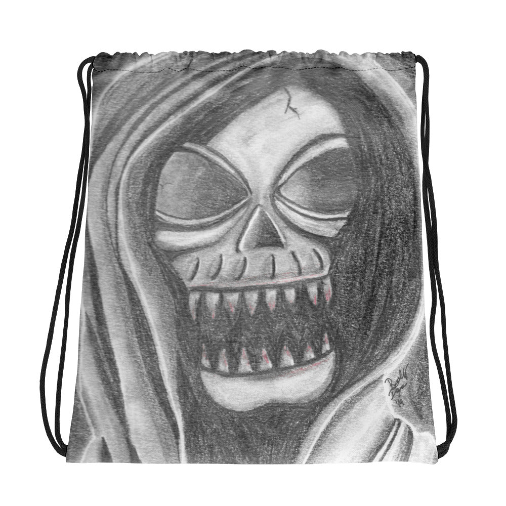 Bloody Reaper Drawstring Bag