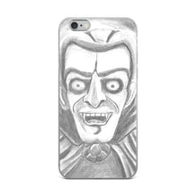 Load image into Gallery viewer, Vampire iPhone Case (Various Options)