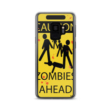 Load image into Gallery viewer, Caution! Zombies Samsung Case (Various Options)