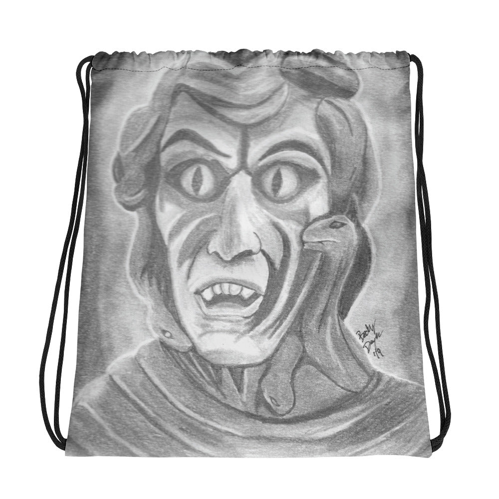 Medusa Drawstring Bag