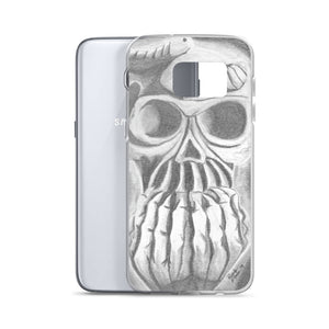 Skull in Hands Samsung Case (Various Options)